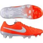 Nike Tiempo Legend V FG oranžová/bílá