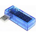 USB měřič proudu a napětí Barva Modrá