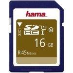 Hama SDHC 16GB UHS-I U1 114942