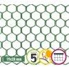 Plastová síť na plot 19 x 20 mm EXAGON 1 x 5 m šestiúhelník
