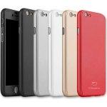 Pouzdro Clearo Luxury Defender 360 iPhone 7 PLUS Červené