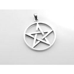 ThajskoSilvermanufacture. Stříbrný přívěsek.Pentagram No.052 ... 08c1ded00c0