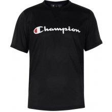 Champion Crew T Shirt Black