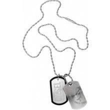 Diesel Pánský ocelový náhrdelník psí známky DX0202040