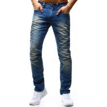 OSTATNÍ Pánské modré džíny ux0309 modrá