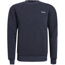 Lee Cooper Fleece Crew Sweater pánská Grey Marl