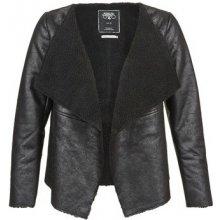 Le Temps des Cerises Aly kožená bunda černá