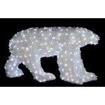 Vánoční ledový medvěd 1,27 m OPMX-01-L