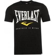 Everlast Logo T Shirt Mens černá