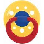 Baby-Nova dudlík latex kulatý barevný velký Žlutý