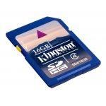 Kingston SDHC 16GB Class 4 SD4/16GB