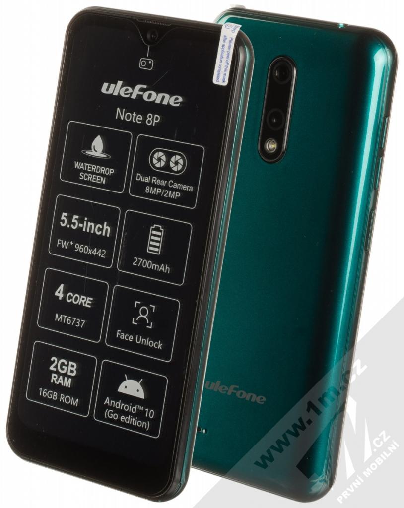UleFone Note 8P 2GB/16GB na Heureka.cz