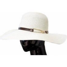 Made in Italy Dámský slaměný klobouk s kovovou sponou eaa1e1c57b