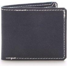 Luxusní kožená peněženka modrá modrá