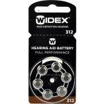 Baterie Widex 312 6ks