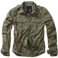 36f5aae6da2 Brandit košile Vintage shirt Longsleeve olivová od 800 Kč - Heureka.cz