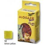 Folia Mozaika skleněná 10 x 10 mm Žlutá
