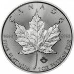 Maple Leaf 1 oz 0.999 Pt Kanada Royal Canadian Mint STANDARD 1 oz 0.999