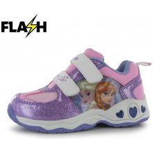 Character Light Up Infants Trainers Frozen Pink