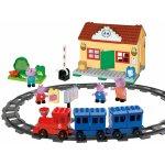 PlayBig Bloxx Peppa Pig Železniční stanice