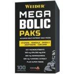 Weider Mega Bolic Paks, multivitamíny, 100 kps