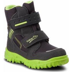 bd00fba351 Superfit 3-09044-20 šedozelená. Zimní kotníčková zateplená obuv Superfit s  membránou GORE-TEX.