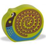 O-OOPS Easy-Sound Dřevěné chrastítko Snail Mushee Šnek