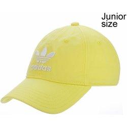 5911a77ffa6 Adidas Originals Trefoil Cap Youth Intense dětská kšiltovka Lemon White