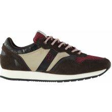 Lee Cooper Kit Sneakers pánské Shoes Mocha/Taupe/Black