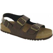 92cc49807f63 Scholl TYLER zdravotní sandály hnědé