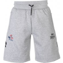 Lonsdale GB Boxing shorts Mens Grey