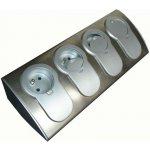 HBF Zásuvka 760070 Kuchyňská rohová lišta se 4 zásuvkami