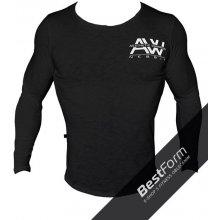 Nebbia AW Tričko s potiskem Aesthetic Warrior 119 černá