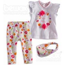 Dívčí souprava BABALUNO FLOWER703WH1D