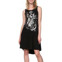 Desigual šaty Vest Omahas černá od 2 199 Kč - Heureka.cz e5f7842767