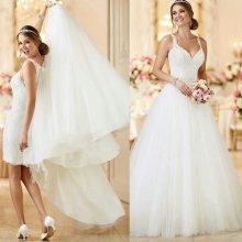 cba4398bcc74 Luxusní svatební šaty s odjímatelnou sukní 2775-075