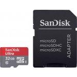 SanDisk Ultra microSDHC 32GB UHS-I U1 + adaptér 139727