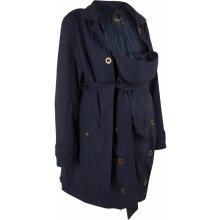 16713e041785 Bonprix těhotenský kabát s baby vsadkou modrá