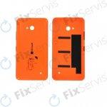 Kryt Microsoft Lumia 640 zadní oranžový