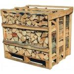 OKPALIVA Štípané palivové dřevo tvrdé listnáče 1prmr, Paleta