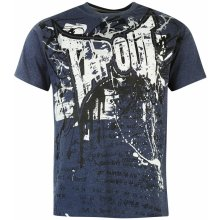 Tapout Foil T Shirt Mens Denim Blue