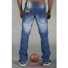 NET pánské jeansy modré