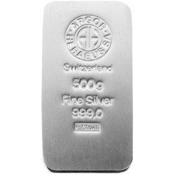 Argor Heraeus Investiční stříbrný slitek 500g