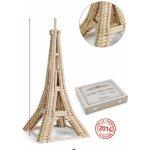Jeujura Dřevěná stavebnice Eiffelova věž