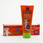 Kiss My Face Corp. Zubní pasta dětská bez flouridu, lesní plody 96 g