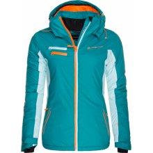 Alpine Pro Baudouina dámská bunda tyrkysová