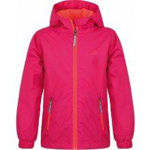 Loap Kids Vebus dětská sportovní bunda růžová