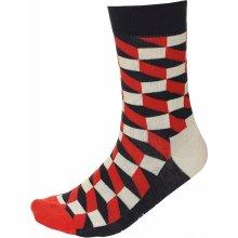 Happy Socks Vícebarevné ponožky FO01-068
