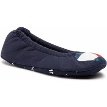 53b619962093 Bačkory TOMMY HILFIGER - Cozy Travel Pack Slipper FW0FW04179 Midnight 403