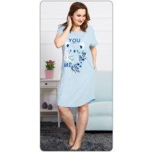 Sielei GE22 dámské domácí šaty světlá fialová. 876 Kč Pohodový nákup. Dámské  domácí šaty s krátkým rukávem Koala světle modrá f745377dea